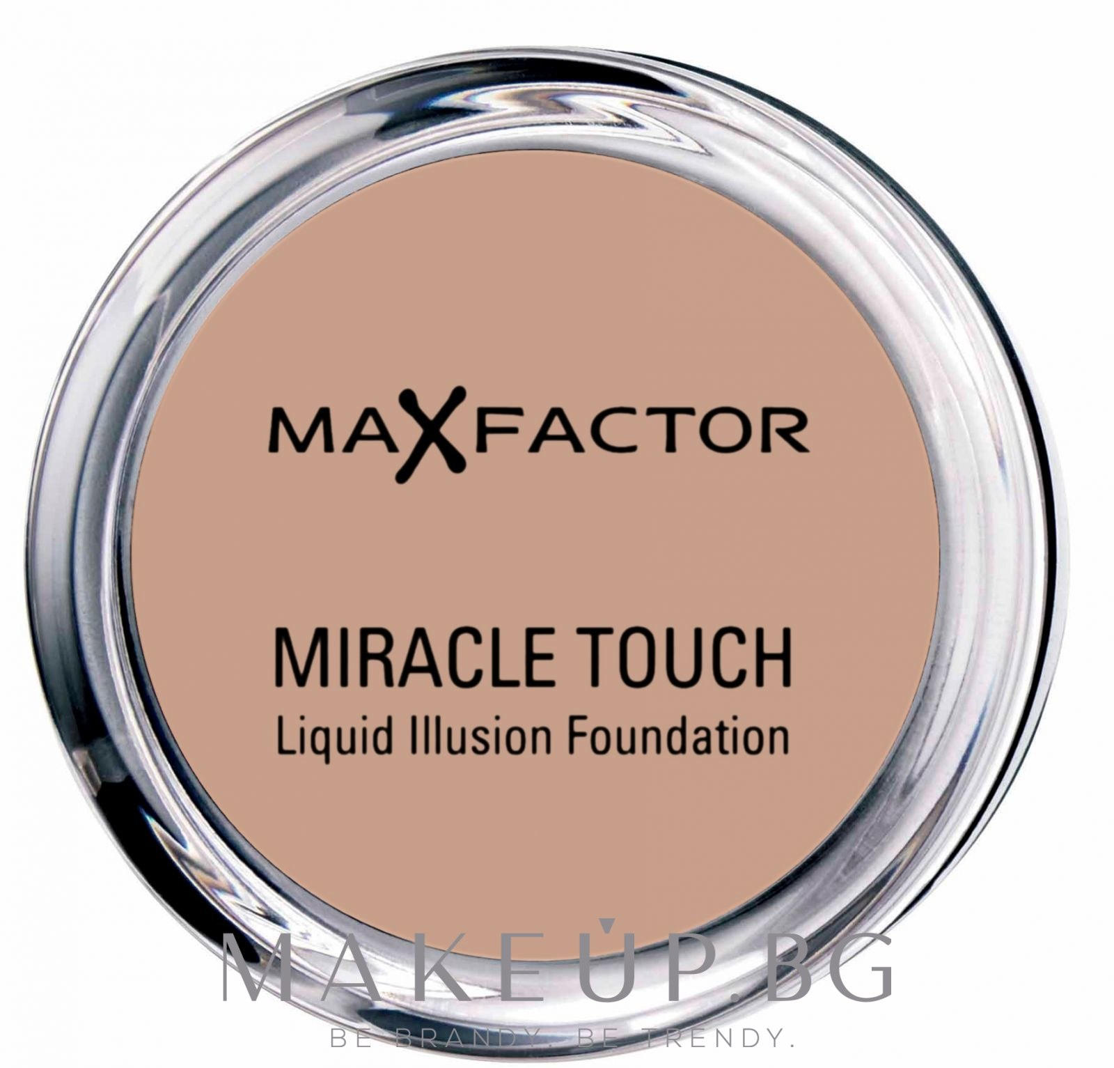 Фон дьо тен - Max Factor Miracle Touch — снимка 85-Карамел