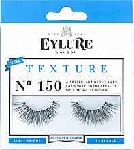 Парфюмерия и Козметика Изкуствени мигли №150 - Eylure Pre-Glued Texture