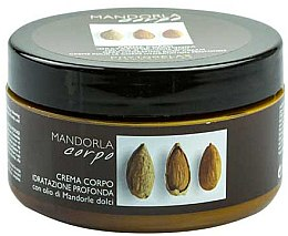 Парфюми, Парфюмерия, козметика Овлажняващ крем за тяло - Phytorelax Laboratories Mandorla Deep Hydrating Body Cream