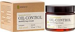 Парфюмерия и Козметика Себорегулиращ матиращ крем за лице - Phenome Sustainable Science Oil-Control Mattifying Cream