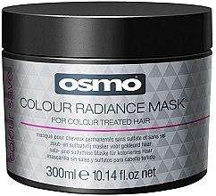 Парфюмерия и Козметика Маска за боядисана коса - Osmo Colour Save Colour Radiance Mask