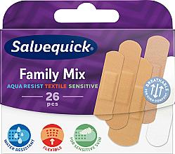 Парфюмерия и Козметика Семеен комплект пластири - Salvequick Family Mix
