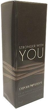 Giorgio Armani Emporio Armani Stronger With You - Тоалетна вода (мини) — снимка N1