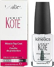 Парфюми, Парфюмерия, козметика Лак за бързо съхнене на лака - Kinetics Kwik Kote Miracle Top Coat