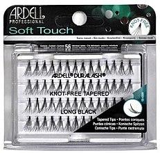 Парфюмерия и Козметика Комплект мигли на снопчета - Ardell Soft Touch Long Black