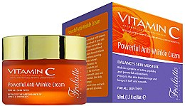 Парфюмерия и Козметика Крем за лице против бръчки - Frulatte Vitamin C Powerful Anti Wrinkle Cream