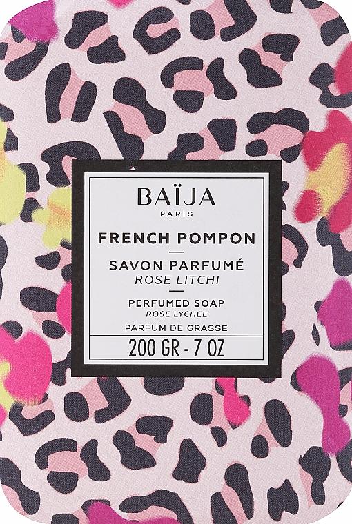 Тоалетен сапун - Baija French Pompon Perfumed Soap — снимка N1