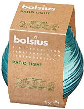 """Парфюмерия и Козметика Ароматна свещ в бурканче """"Patiolight Sky"""", 94/91 мм - Bolsius"""