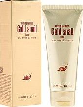 Парфюми, Парфюмерия, козметика Почистваща пяна за лице с екстракт от охлюв - The Orchid Skin Premium Snail Foam