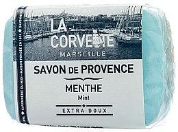 """Парфюми, Парфюмерия, козметика Провансалски сапун """"Мента"""" - La Corvette Provence Soap Mint"""