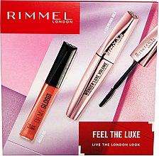 Парфюми, Парфюмерия, козметика Комплект - Rimmel Feel The Luxe (спирала/11ml + гланц за устни/6/5ml)