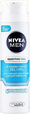 Охлаждащ гел за бръснене - Nivea Men Sensitive — снимка N1