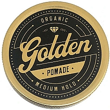 Парфюмерия и Козметика Стилизираща помада за коса - Golden Beards Golden Pomade