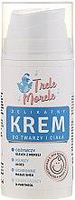 Парфюмерия и Козметика Детски успокояващ крем за лице и тяло - E-Fiore Trele Morele Ultra Delicate Cream