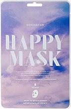 Парфюмерия и Козметика Хидратираща маска за лице с екстракт от камелия - Kocostar Camellia Happy Mask