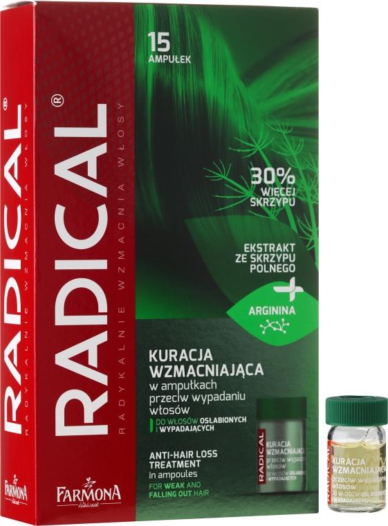 Ампули против косопад за отслабена коса - Farmona Radical Hair Loss