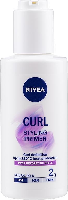 Гел за начупена и къдрава коса - Nivea Styling Primer Curl — снимка N1