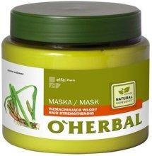 Парфюмерия и Козметика Укрепваща маска за коса - O'Herbal