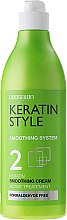 Парфюми, Парфюмерия, козметика Изглаждащ кератинов крем за коса - ProSalon Keratin Style 2 Keratin Smoothing Cream