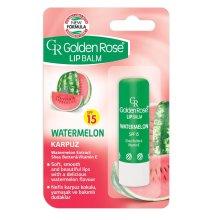 Парфюми, Парфюмерия, козметика Балсам за устни - Golden Rose Lip Balm Watermelon SPF15