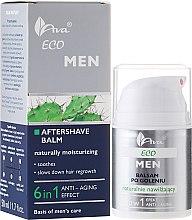 Парфюмерия и Козметика Хидратиращ балсам за след бръснене 6в1 - Ava Laboratorium Eco Men Lotion
