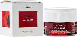Парфюми, Парфюмерия, козметика Изсветляващ дневен крем за лице за суха кожа - Korres Wild Rose Brightening & First Wrinkles Day Cream