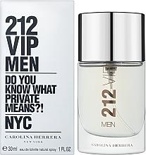 Парфюмерия и Козметика Carolina Herrera 212 VIP Men - Тоалетна вода