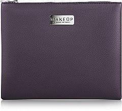 """Парфюми, Парфюмерия, козметика Козметична тъмно лилава чанта """"Lofty"""" - MakeUp"""