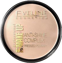 Парфюмерия и Козметика Компактна пудра - Eveline Cosmetics Anti-Shine Complex