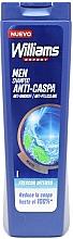 Парфюмерия и Козметика Шампоан проив пърхот - Williams Refresh Anti-Dandruff Shampoo