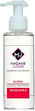 "Парфюми, Парфюмерия, козметика Еликсир-масло за лице, тяло и коса ""Ягода"" - Madame Justine Strawberry Body Hair Face Elixir"