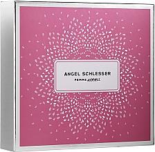 Парфюмерия и Козметика Angel Schlesser Femme Adorable - Комплект (тоал. вода/100ml + тоал. вода/15ml + лосион за тяло/100ml)