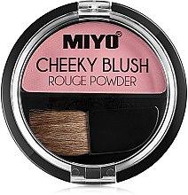 Парфюми, Парфюмерия, козметика Руж за лице - Miyo Cheeky Blush Rouge Powder