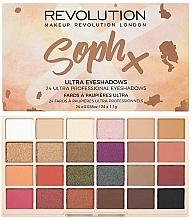 Парфюмерия и Козметика Палитра сенки за очи - Makeup Revolution Soph X Eyeshadow Palette