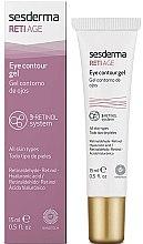 Парфюмерия и Козметика Гел против стареене на кожата около очите с три вида ретинол - SesDerma Laboratories Reti Age Facial Eye Contour Gel 3-Retinol System