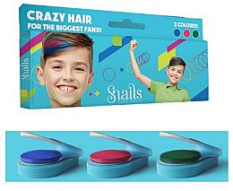 Парфюми, Парфюмерия, козметика Детски пастели за коса, за момчета - Snails Mini Bebe