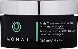 Парфюмерия и Козметика Трансформираща маска за коса - Monat Hair Transformation Masque
