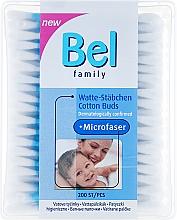 Парфюмерия и Козметика Клечки за уши - Bel Family Cotton Buds