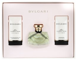 Bvlgari Mon Jasmin Noir L`Eau Exquise - Комплект (edt/50ml + b/lot/75ml + s/g/75ml) — снимка N2