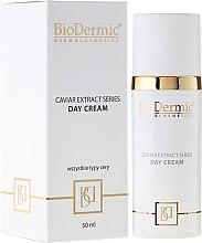 Парфюмерия и Козметика Дневен крем за лице - BioDermic Caviar Extract Day Cream