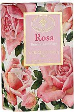 "Парфюми, Парфюмерия, козметика Натурален сапун ""Роза"" - Saponificio Artigianale Fiorentino Masaccio Rose Soap"
