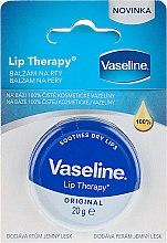 Парфюмерия и Козметика Балсам за устни - Vaseline Lip Therapy Original Lips Balm