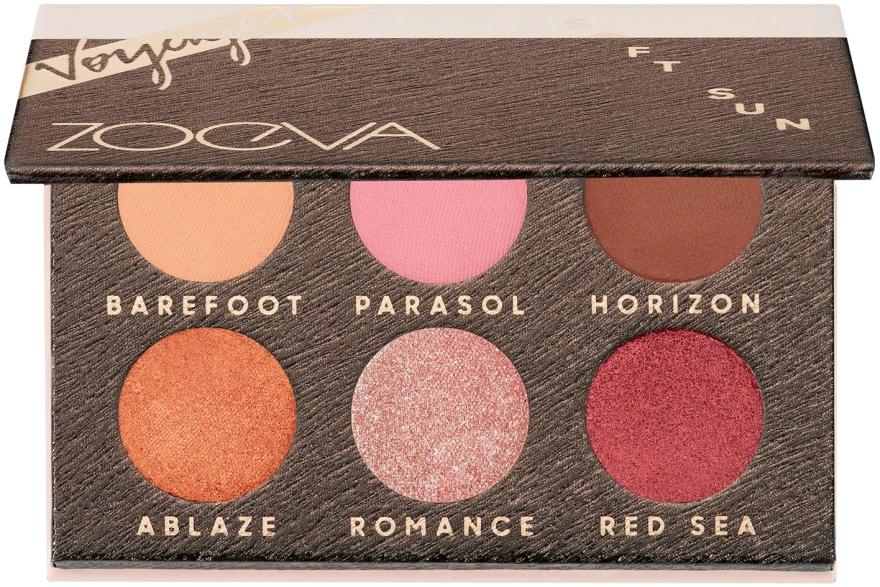 Палитра сенки за очи - Zoeva Soft Sun Voyager Eyeshadow Palette — снимка N1