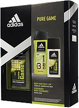 Парфюми, Парфюмерия, козметика Adidas Pure Game - Комплект (спрей за тяло/ 75ml + душ гел/250ml)