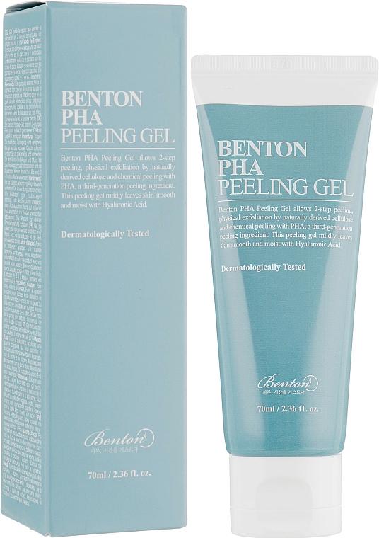 Пилинг гел за лице с лактобионова киселина - Benton PHA Peeling Gel
