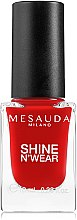 Парфюми, Парфюмерия, козметика Лак за нокти - Mesauda Milano Shine N`Wear Nail Polish