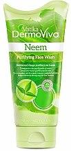 Парфюми, Парфюмерия, козметика Измиващ гел за лице - Dabur Vatika DermoViva Neem Purifying Face Wash