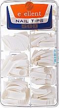 Парфюмерия и Козметика Удължители за нокти, k/k - Silcare Tipsy Exellent French White