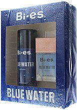 Парфюми, Парфюмерия, козметика Bi-Es Blue Water Men - Комплект (тоал. вода/100ml + део/150ml)