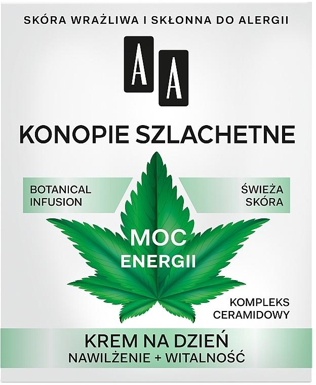 Дневен крем за лице 30+ - AA Moc Energy Cream 30+